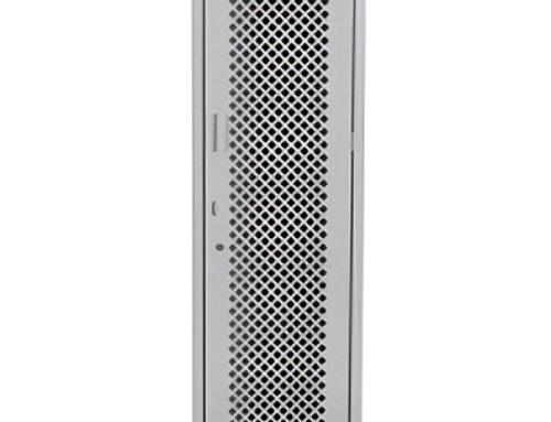 LM-3131 – Locker con malla total 1 puerta