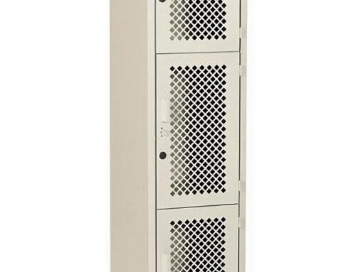 LM-3133 – Locker con malla total 3 puertas