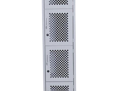 LM-3134 – Locker con malla total 4 puertas