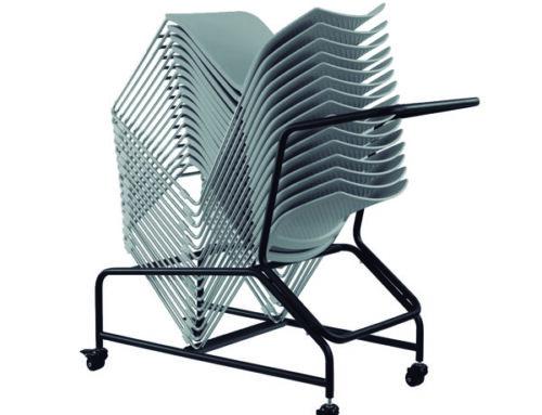 Carrito de desplazamiento para silla A-600 y A-620.